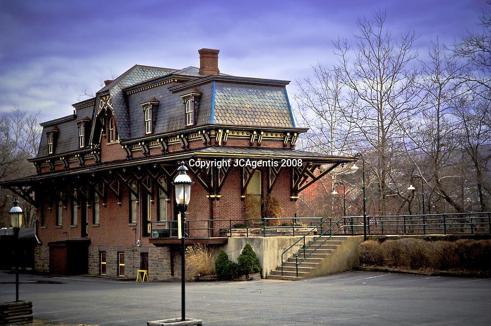 Main Street Depot Historic Bethlehem Pennsylvania