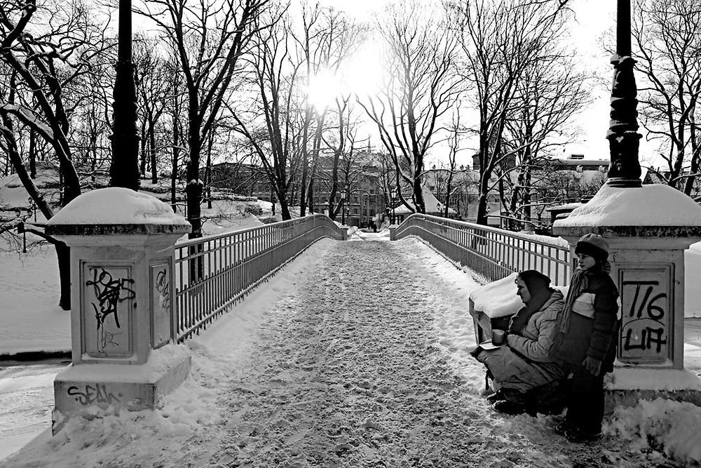Poverty in Latvia. documentary