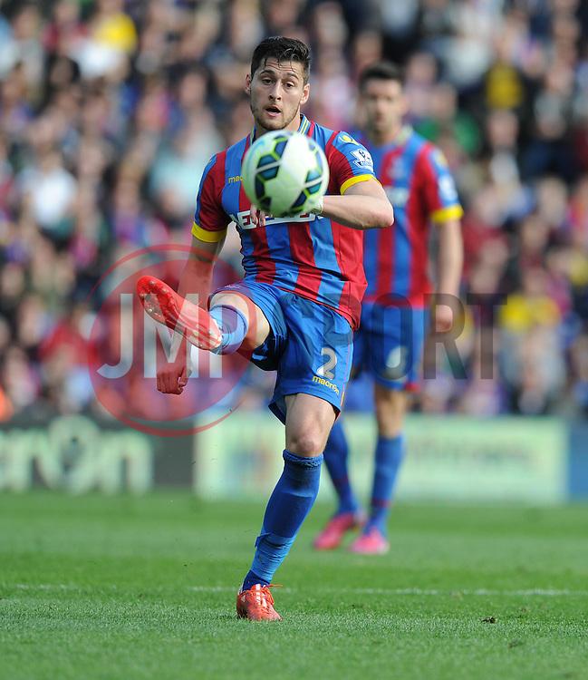 Crystal Palace's Joel Ward - Photo mandatory by-line: Alex James/JMP - Mobile: 07966 386802 - 09/05/2015 - SPORT - Football - London - Selhurst Park - Crystal Palace v Manchester United - Barclays Premier League