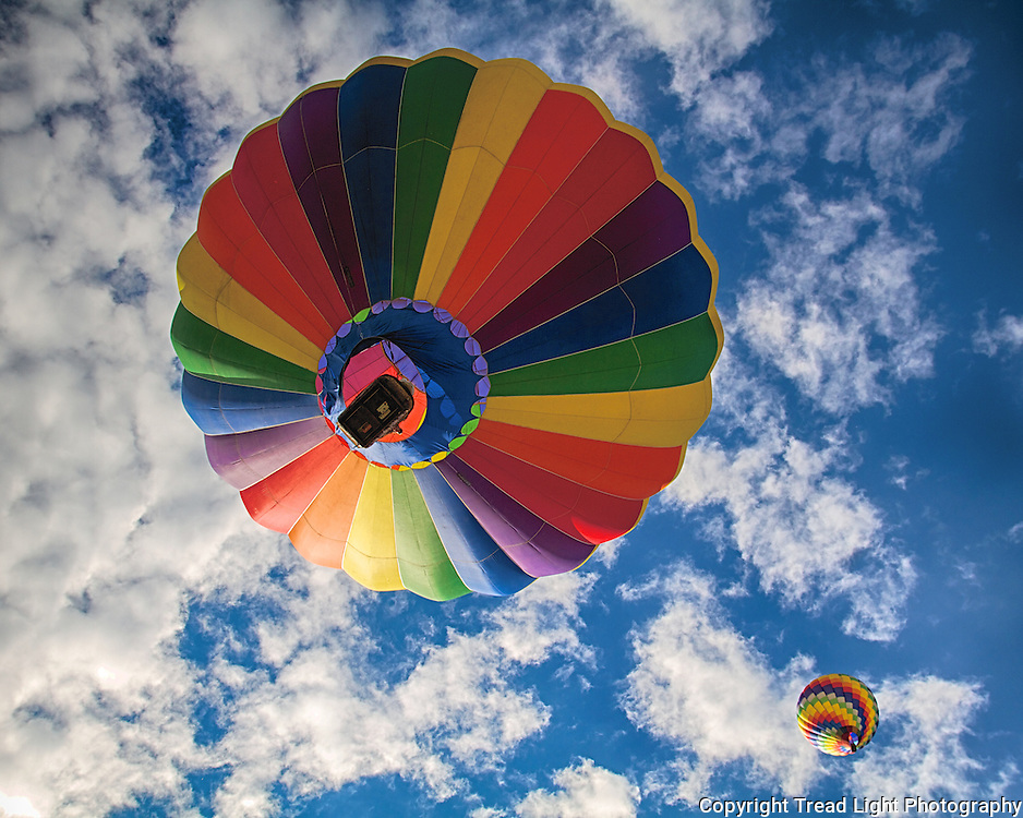 Hot Air Balloon Festival near Steamboat Springs, CO