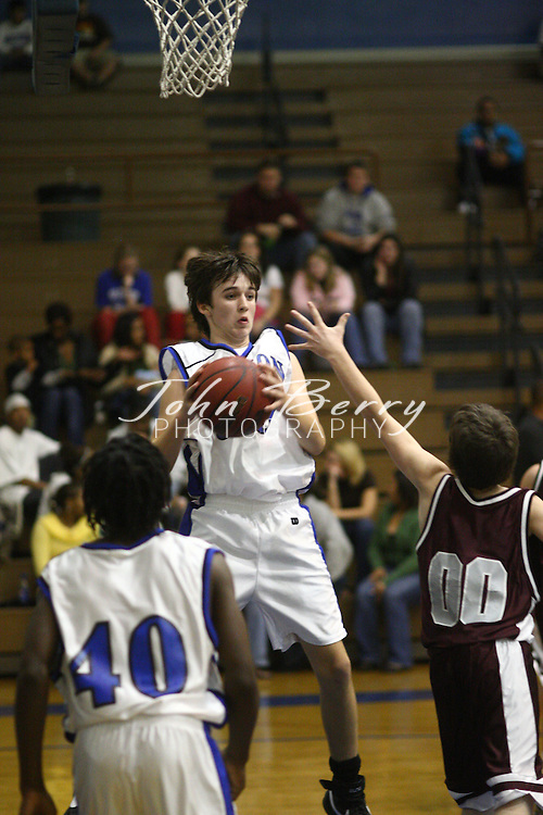 MCHS JV Boys Basketball.vs Luray.12/14/2007.. The JV Boys Basketball team improved their record to 5-0 tonight with a 43-22 win over Luray. Patrick Lucas and Dominic Roebuck led the way with 12 points each..