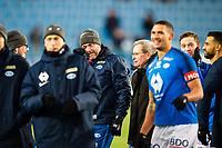 Fotball , 10 November 2019 , Eliteserien , Molde - Strømsgodset , en rørt Erling Moe, hovedtrener Molde, etter kampslutt<br /> <br /> <br /> , Foto: Marius Simensen, Digitalsport