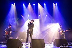 """© Licensed to London News Pictures . 02/12/2015 . Manchester , UK . NEON WALTZ perform . """" Radio X Road Trip """" at the O2 Apollo in Manchester . Photo credit : Joel Goodman/LNP"""