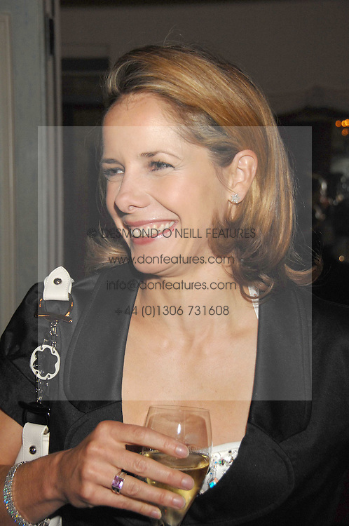 DARCEY BUSSELL at a dinner to celebrate the launch of the Dom Ruinart 1998 vinatage champage at Claridge's, Brook Street, London W1 on 23rd April 2008.<br /><br />NON EXCLUSIVE - WORLD RIGHTS