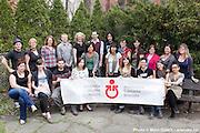 Portrait des superviseurs - Supervisors portrait / Canada World Youth - Jeunesse Canada Monde / CWY - JCM /  JCM siège social - CWY headquarter  / Montreal / Canada / 2012-04-16, © Photo Marc Gibert / adecom.ca