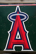 ANAHEIM, CA - MAY 14:  The big A on a wall at the Los Angeles Angels of Anaheim game against the Boston Red Sox at Angel Stadium in Anaheim, California on Thursday, May 14, 2009.  The Angels defeated the Red Sox 5-4 in 12 innings.  (Photo by Paul Spinelli/MLB Photos)