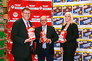 l-r, Nigel Smith, Supply Chain Director Tayto, Phil Storer, Country director Pooling Partners, Shelly Harris, Commercial Manager Pooling Partners