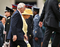 © Licensed to London News Pictures. 10/06/2016. London, UK. Former Prime Minister John Major and his wife Norma Major, arrive at St Paul's Cathedral for a service of thanksgiving to mark the 90th birthday of Queen Elizabeth II. Photo credit: Ben Cawthra/LNP