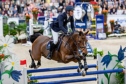 VON ECKERMANN Henrik (SWE), Toveks Mary Lou<br /> Göteborg - Gothenburg Horse Show 2019 <br /> Parcoursbesichtigung<br /> Longines FEI World Cup™ Jumping Final III<br /> Int. jumping competition over two rounds not against the clock with jump-off in case of point egality (1.50 - 1.60 m)<br /> Longines FEI Jumping World Cup™ Final and FEI Dressage World Cup™ Final<br /> 07. April 2019<br /> © www.sportfotos-lafrentz.de/Stefan Lafrentz