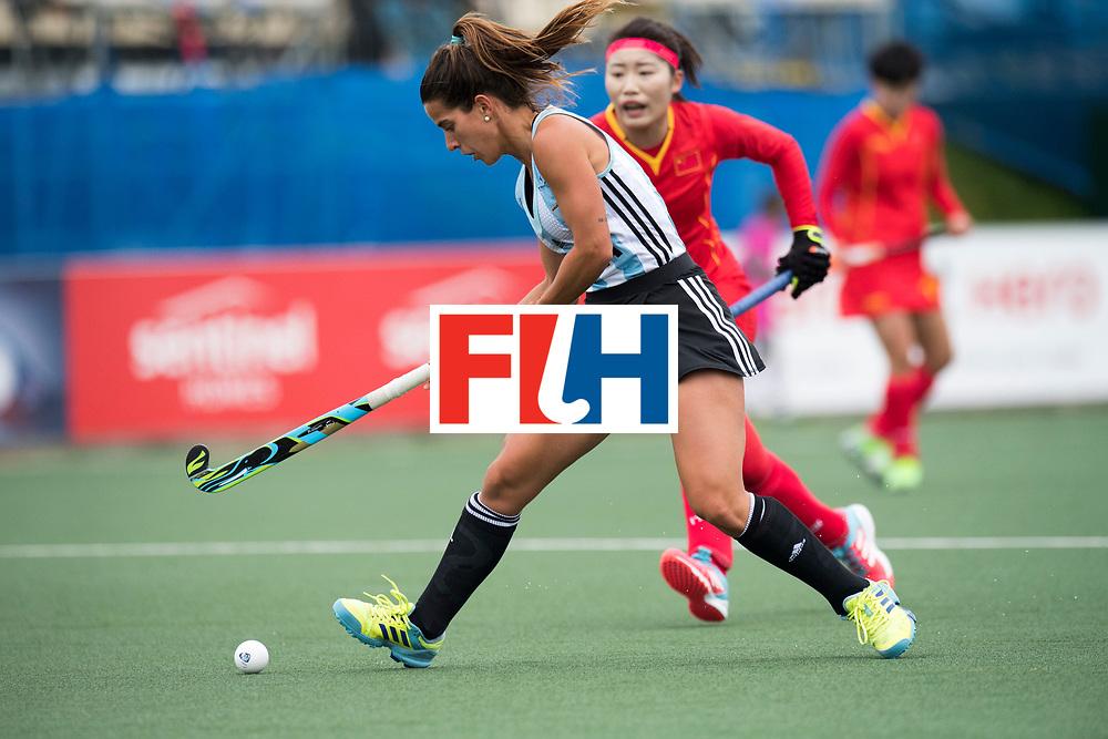 AUCKLAND - Sentinel Hockey World League final women<br /> Match id 10294<br /> 04 Argentina v China.<br /> Foto: Agostina Alonso <br /> WORLDSPORTPICS COPYRIGHT FRANK UIJLENBROEK