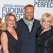 NLD/Amsterdam/20150309 - Premiere Fucking Perfect, Ellemieke Vermolen, broer jeremy en diens partner en ouders