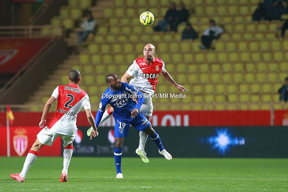 ABDENNOUR AYMEN / SIO GIOVANNI - 13.03.2015 -   Monaco / Bastia -  29eme journee de Ligue 1 <br />