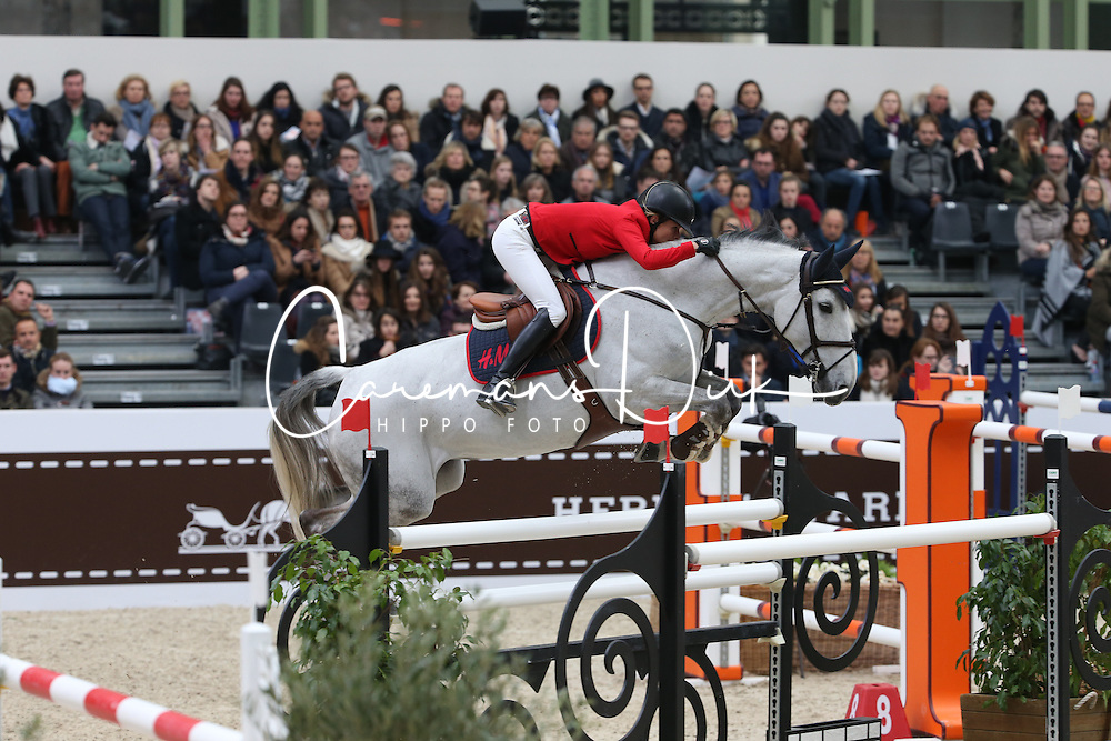 Baryard-Johnsson Malin, (SWE), H&M Cue Channa 42<br /> Grand Prix Hermes <br /> Saut Hermes Paris 2016<br /> © Hippo Foto - Counet Julien