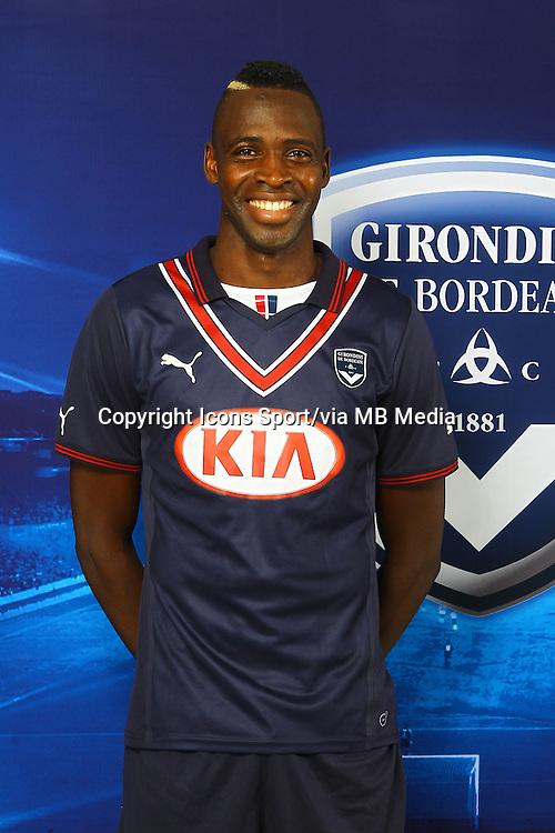 Cheick DIABATE - 13.09.2013 - Photo officielle Bordeaux - Ligue 1<br /> Photo : Icon Sport