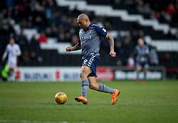 Charlton Athletic's Josh Magennis during the Sky Bet League One match at Stadium MK, Milton Keynes .