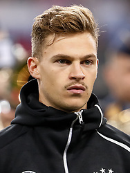 November 15, 2018 - Leipzig, Germany - Joshua Kimmich of Germany looks on during the international friendly match between Germany and Russia on November 15, 2018 at Red Bull Arena in Leipzig, Germany. (Credit Image: © Mike Kireev/NurPhoto via ZUMA Press)