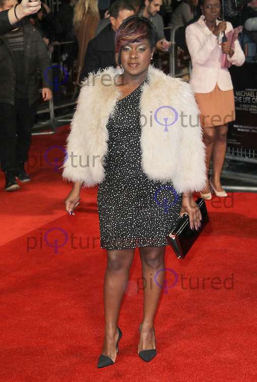 Tameka Empson Michael Jackson 'The Life of an Icon' World Premiere, Empire Cinema, Leicester Square, London, UK, 02 November 2011:  Contact: Rich@Piqtured.com +44(0)7941 079620 (Picture by Richard Goldschmidt)