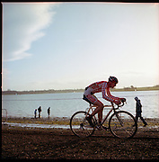 Rutland CiClo Cross race, Rutland Water, 17.1.10.