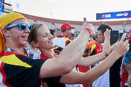 Closing Ceremony of the Special Olympics World Games Los Angeles 2015 at the Los Angeles Coliseum Stadium on ninth day, August 2, 2015 in Los Angeles, USA.<br /> <br /> USA, Los Angeles, August 2, 2015<br /> <br /> Picture also available in RAW (NEF) or TIFF format on special request.<br /> <br /> For editorial use only. Any commercial or promotional use requires permission.<br /> <br /> Adam Nurkiewicz declares that he has no rights to the image of people at the photographs of his authorship.<br /> <br /> Mandatory credit:<br /> Photo by © Adam Nurkiewicz / Mediasport