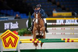 Veniss, Pedro (BRA) For Felicila<br /> Stuttgart - German Masters 2016<br /> © www.sportfotos-lafrentz.de