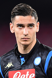 March 7, 2019 - Naples, Naples, Italy - Alex Meret of SSC Napoli during the UEFA Europa League match between SSC Napoli and RB Salzburg at Stadio San Paolo Naples Italy on 7 March 2019. (Credit Image: © Franco Romano/NurPhoto via ZUMA Press)