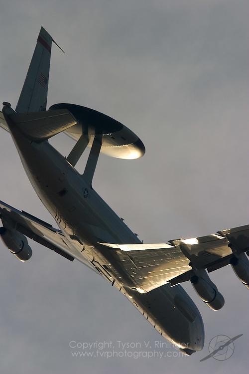 In support of air-to-ground operations, the AWACS (Airborne Warning and Control System) E-3 Sentry can provide necessary information needed for reconnaissance, interdiction, airlift and close-air support for Blue Team ground forces. It can also provide information for commanders of air operations to gain and maintain control of the air battle. The E-3 can also be used as a surveillance asset in support of other government agencies and NATO countries.