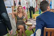 NATALIE JOEL; HUGO TAYLOR, Cartier Queen's Cup. Guards Polo Club, Windsor Great Park. 17 June 2012