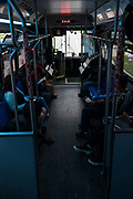 A view from inside a Metro Transit bus on East Washington Avenue in Madison, WI on Thursday, May 16, 2019.