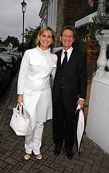 DAVID MONTGOMERY and the HON.MRS MONTGOMERY at the annual Sir David & Lady Carina Frost Summer Party in Carlyle Square, London SW3 on 5th July 2007.<br />