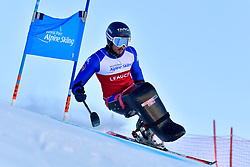 DE SILVESTRO Rene, LW12-1, ITA at the World ParaAlpine World Cup Veysonnaz, Switzerland
