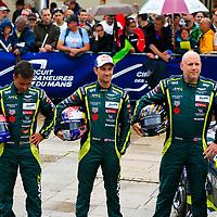 #98, Aston Martin Racing, Aston Martin Vantage, LMGTE Am, driven by: Paul Dalla Lana, Pedro Lamy, Mathias Lauda, 24 Heures Du Mans  2018,  Scrutineering, 11/06/2018,