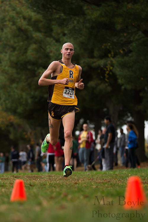 Rowan University Robert Rawls - Collegiate Track Conference  Cross-Country Men's Championship at Gloucester County College in Sewell, NJ on Saturday October 19, 2013. (photo / Mat Boyle)