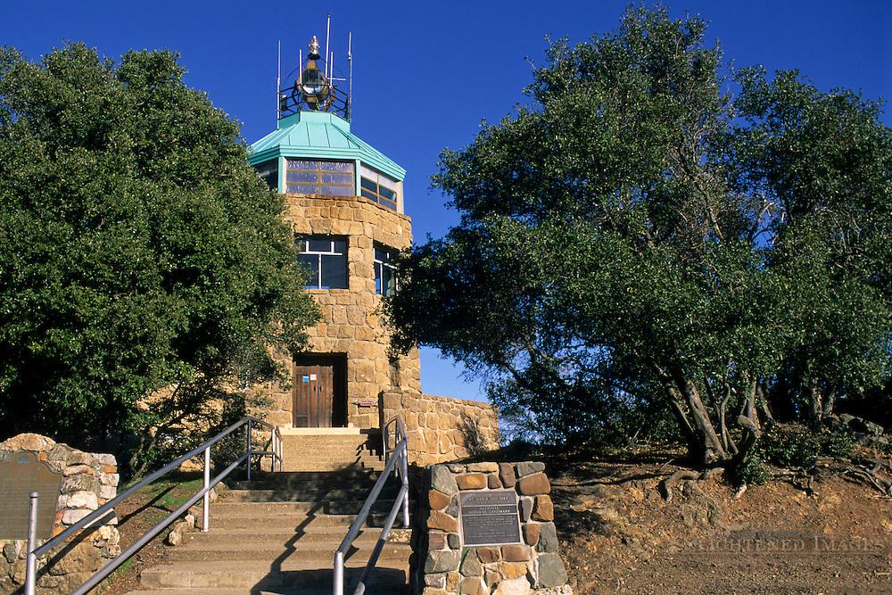 Summit Lookout atop Mount Diablo, Mount Diablo State Park, Contra Costa County, California