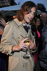 ALEXA CHUNG at the annual Serpentine Gallery Summer Party sponsored by Burberry held at the Serpentine Gallery, Kensington Gardens, London on 28th June 2011.