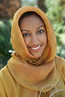 Portrait of muslim woman