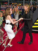 04.JUNE.2013. BERLIN<br /> <br /> BRAD PITT AND ANGELINA JOLIE ATTEND THE WORLD WAR Z PREMIERE HELD AT CINESTAR, POTSDAMER PLATZ, BERLIN.<br /> <br /> BYLINE: EDBIMAGEARCHIVE.CO.UK<br /> <br /> *THIS IMAGE IS STRICTLY FOR UK NEWSPAPERS AND MAGAZINES ONLY*<br /> *FOR WORLD WIDE SALES AND WEB USE PLEASE CONTACT EDBIMAGEARCHIVE - 0208 954 5968*
