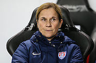 Jill Ellis Head Coach of USA Women during the International Friendly match at stadium:mk, Milton Keynes<br /> Picture by David Horn/Focus Images Ltd +44 7545 970036<br /> 13/02/2015