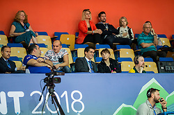 VIP at final match during Day 4 of SPINT 2018 - World Para Table Tennis Championships, on October 20, 2018, in Arena Zlatorog, Celje, Slovenia. Photo by Vid Ponikvar / Sportida