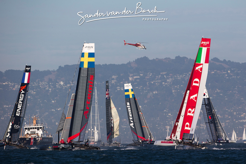 Saterday October 6th. AC45 World Series San Francisco (Oct. 2-7).