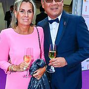 NLD/Amsterdam/20180616 - 26ste AmsterdamDiner 2018, Won Jip en partner Heleen Jeremiasse