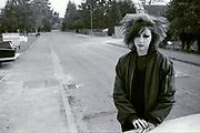 Punk Girl, UK, 1980s.