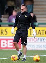 Yeovil Town's Goalkeeping Coach Gareth Stewart - Photo mandatory by-line: Harry Trump/JMP - Mobile: 07966 386802 - 21/02/15 - SPORT - Football - Sky Bet League One - Yeovil Town v Gillingham - Huish Park, Yeovil, England.