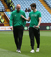 John Ruddy of Norwich and Timm Klose of Norwich before the Sky Bet Championship match at Villa Park, Birmingham<br /> Picture by Paul Chesterton/Focus Images Ltd +44 7904 640267<br /> 01/04/2017