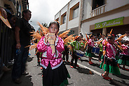 During the children's parade, January 4. PastoCOLOMBIA