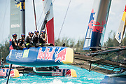 The Great Sound, Bermuda, 21st June 2017, Red Bull Youth America's Cup Finals. Race four. SVB Team Germany.