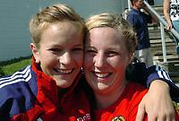 Friidrett<br /> Europacup kvinner<br /> 24.06.2007<br /> Foto: Hasse Sjøgren, Digitalsport<br /> <br /> Ina Cathrin Kartum og Mona Holm