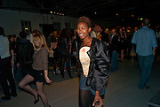 TOLULA ADEYEMI;,- Nokia and Daid Bailey celebrate London ' Alive at Night' to launch Nokia N86. the Old Dairy, 6 Wakefield st. London. WC1. 26 August 2009.
