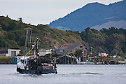 Trawlerman's Boat, Otago Peninsula, New Zealand