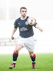 Falkirk's Mark Millar..Falkirk 2 v 5 Livingston, 24/3/2012. .©Michael Schofield.