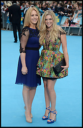 Anna Williamson; Helen Fospero<br />  arrive for the We're The Millers - European Film Premiere. Odeon, London, United Kingdom. Wednesday, 14th August 2013. Picture by Andrew Parsons / i-Images